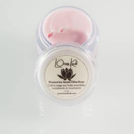 Mini crème visage Santal/olive/rose – Loren Kadi