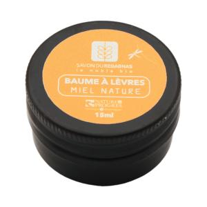 Baume à lèvre nature de la Savonnerie du Regagnas miel nature - Makosmé