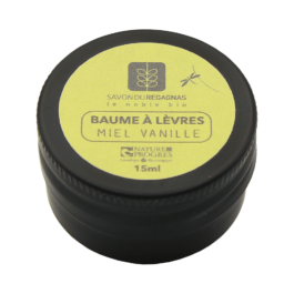 Baume à lèvres vanille – Savonnerie du Regagnas