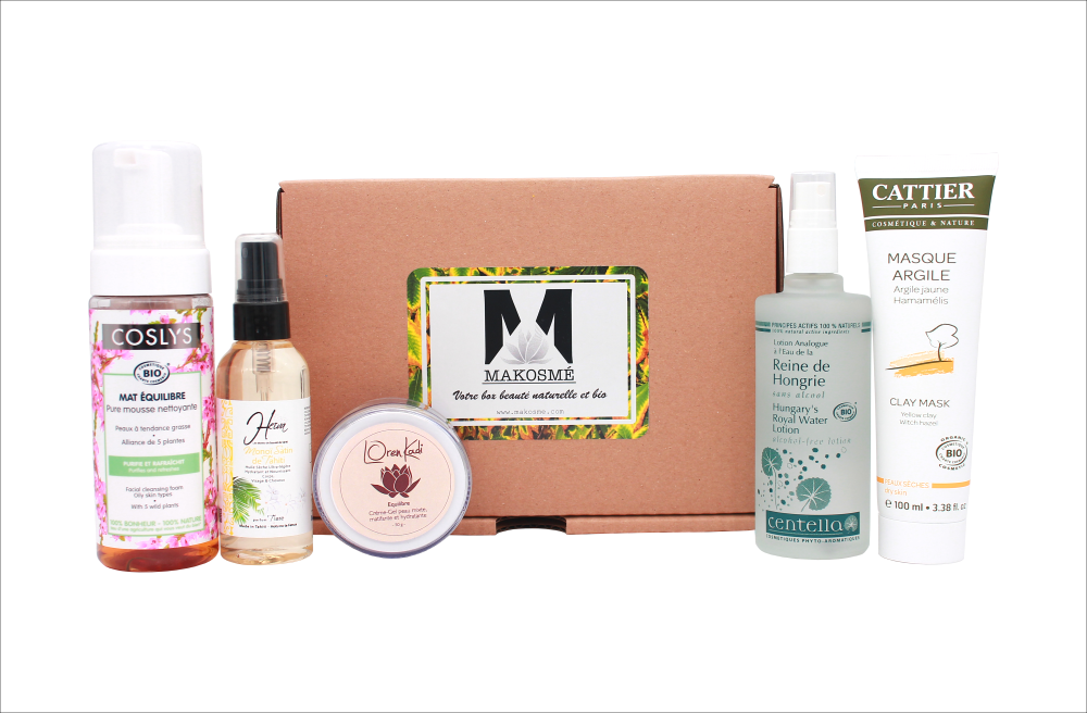 Box Beauté Post-Scriptum Vegan par Makosmé