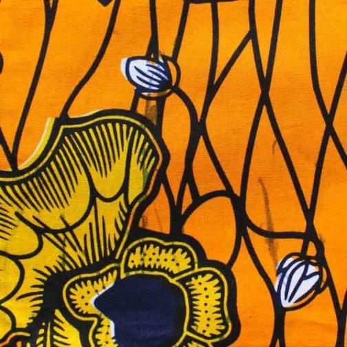 Carré-Pochette-fourre-tout-grande-jaune-fleur par Makosmé