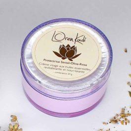 Crème visage Santal-olive-rose – Loren Kadi