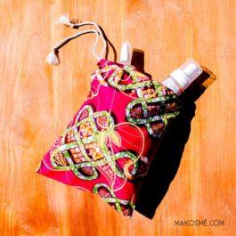 Pochette fourre-tout grande taille par Makosmé