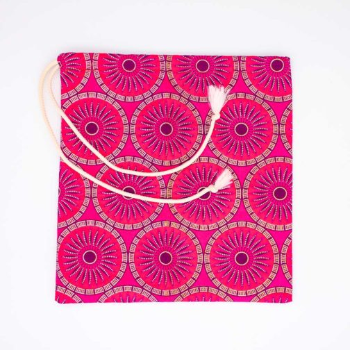 Pochette-fourre-tout-moyenne-rose-or par Makosmé