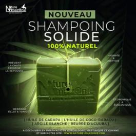 Shampooing Solide tous type de cheveux – Nature Amazonie