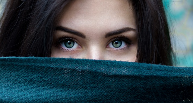yeux verts