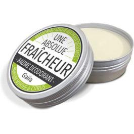 Baume déodorant fraicheur menthe/citron – Gaiia
