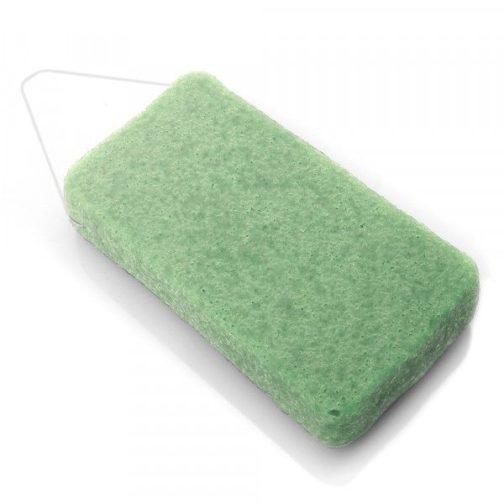 Eponge konjac XL à l'argile verte