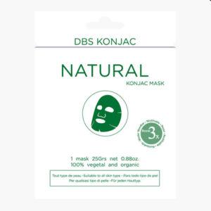 Masque-Visage-au-Apaisant-Konjac naturelle Réutilisable
